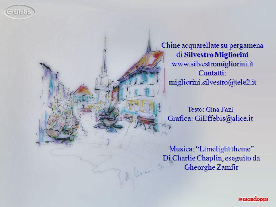 Chine acquarellate su pergamena di Silvestro Migliorini