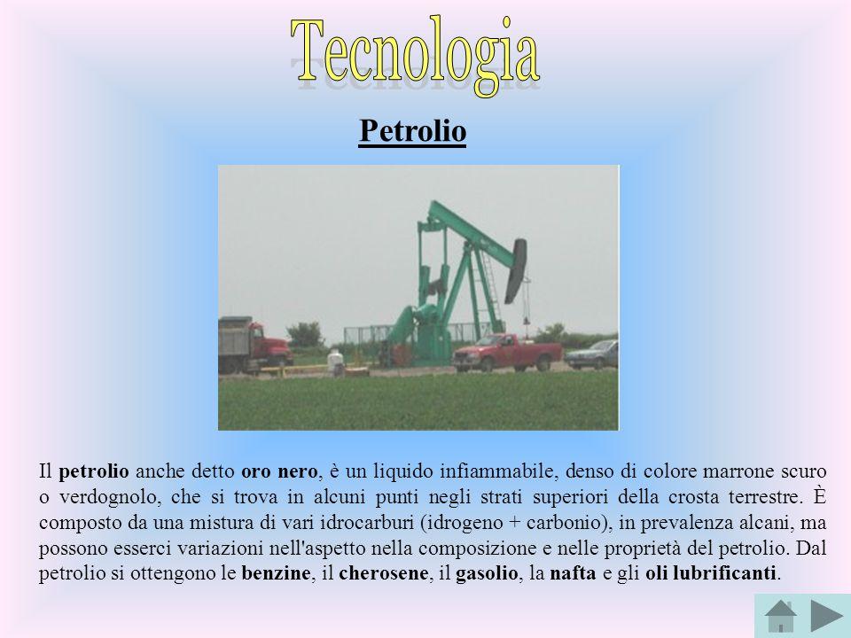 Tecnologia Petrolio.