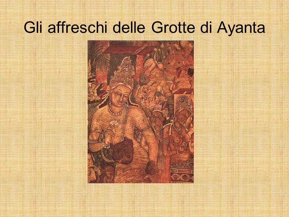 Gli affreschi delle Grotte di Ayanta