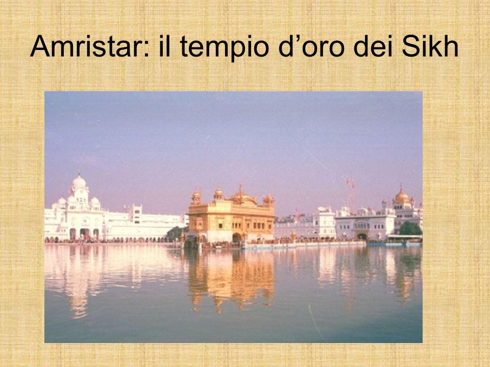 Amristar: il tempio d'oro dei Sikh