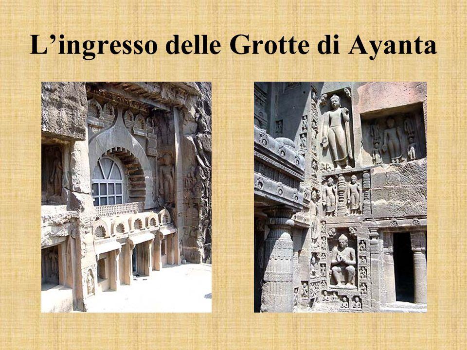 L'ingresso delle Grotte di Ayanta