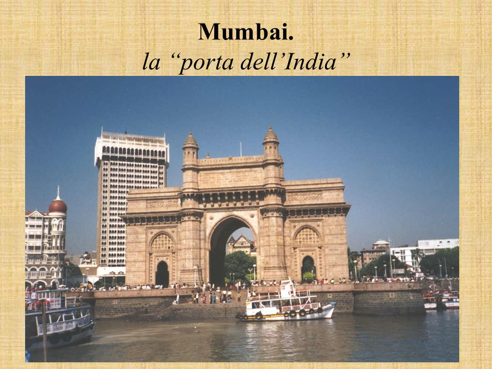 Mumbai. la porta dell'India