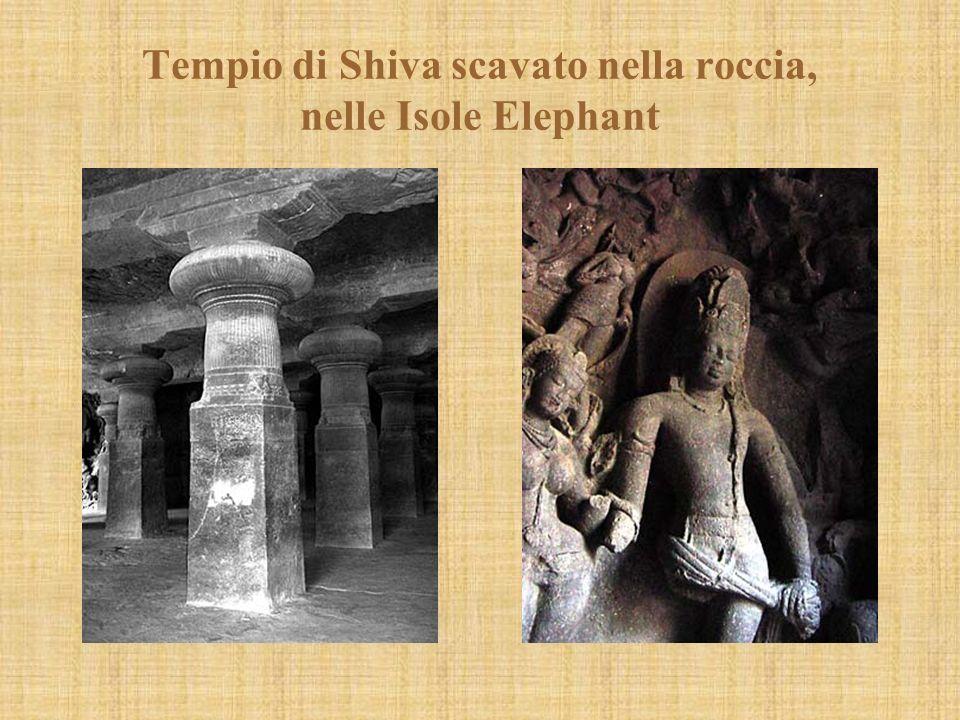 Tempio di Shiva scavato nella roccia, nelle Isole Elephant