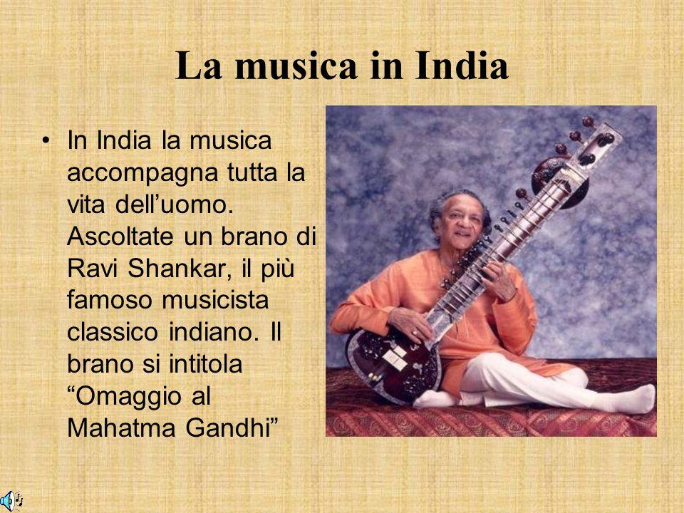 La musica in India