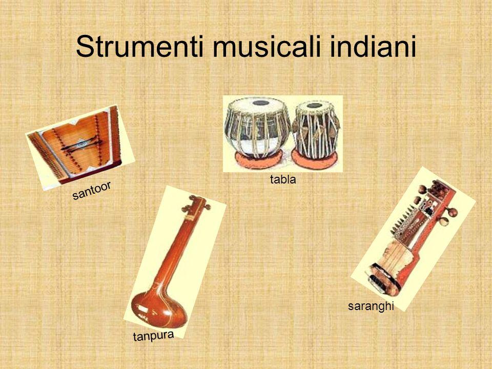 Strumenti musicali indiani