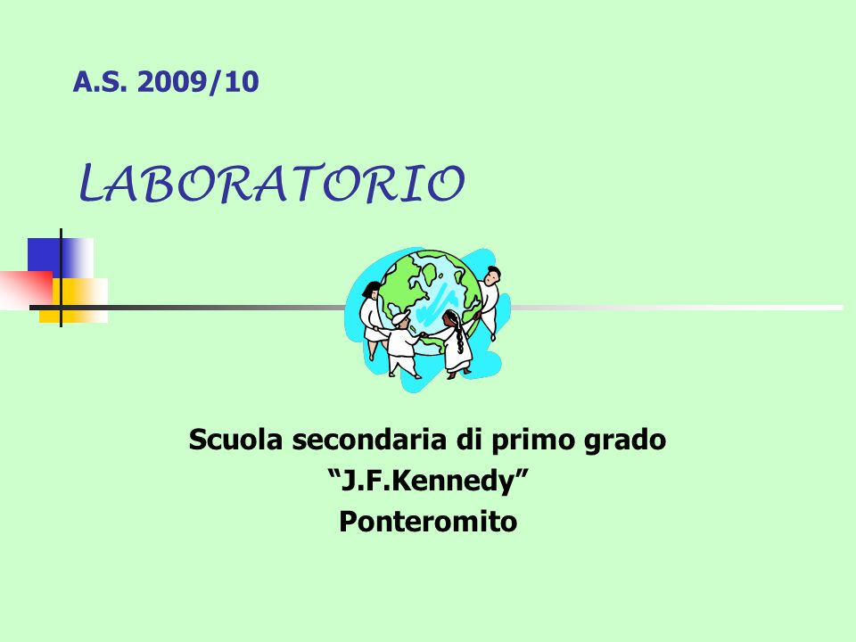 Scuola secondaria di primo grado J.F.Kennedy Ponteromito