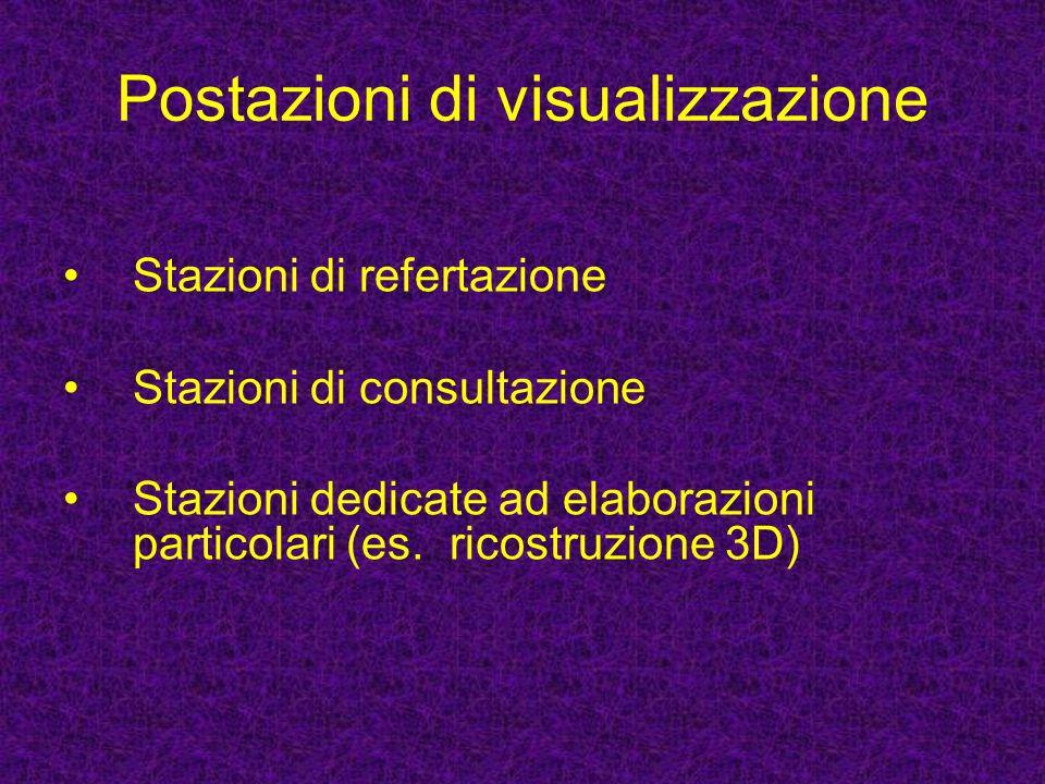 Postazioni di visualizzazione