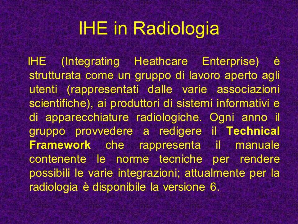IHE in Radiologia