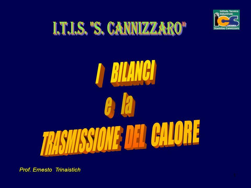 TRASMISSIONE DEL CALORE