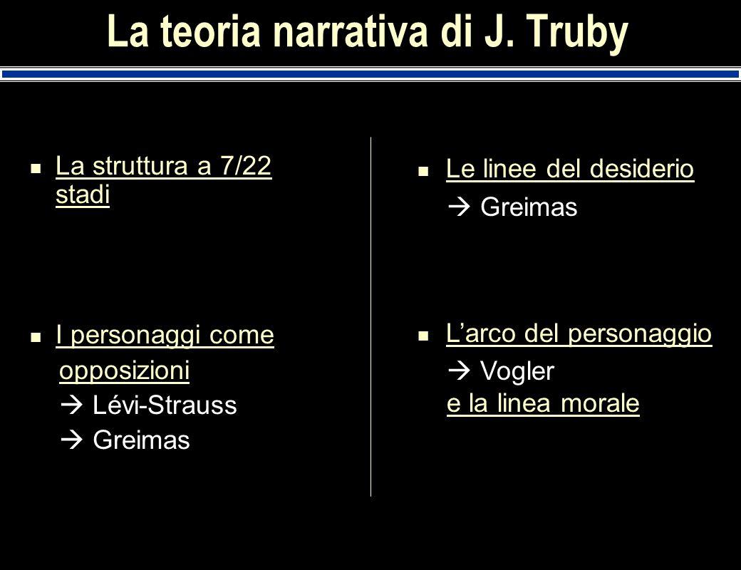 La teoria narrativa di J. Truby