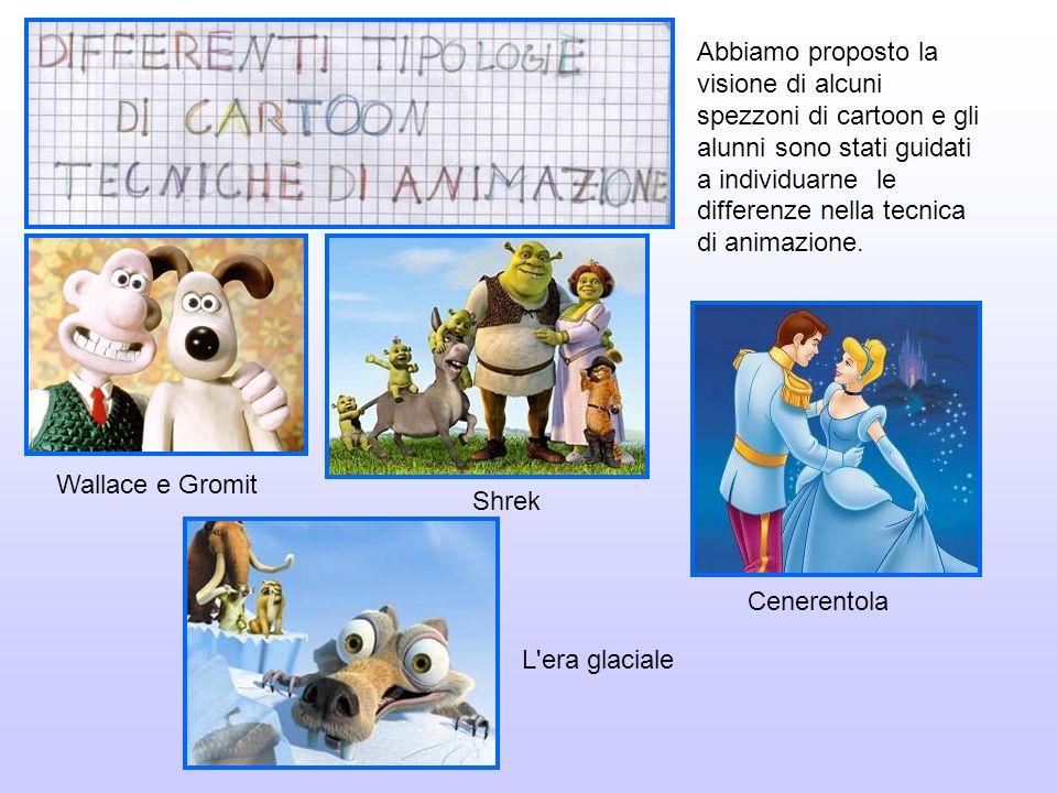 Abbiamo proposto la visione di alcuni spezzoni di cartoon e gli alunni sono stati guidati a individuarne le differenze nella tecnica di animazione.