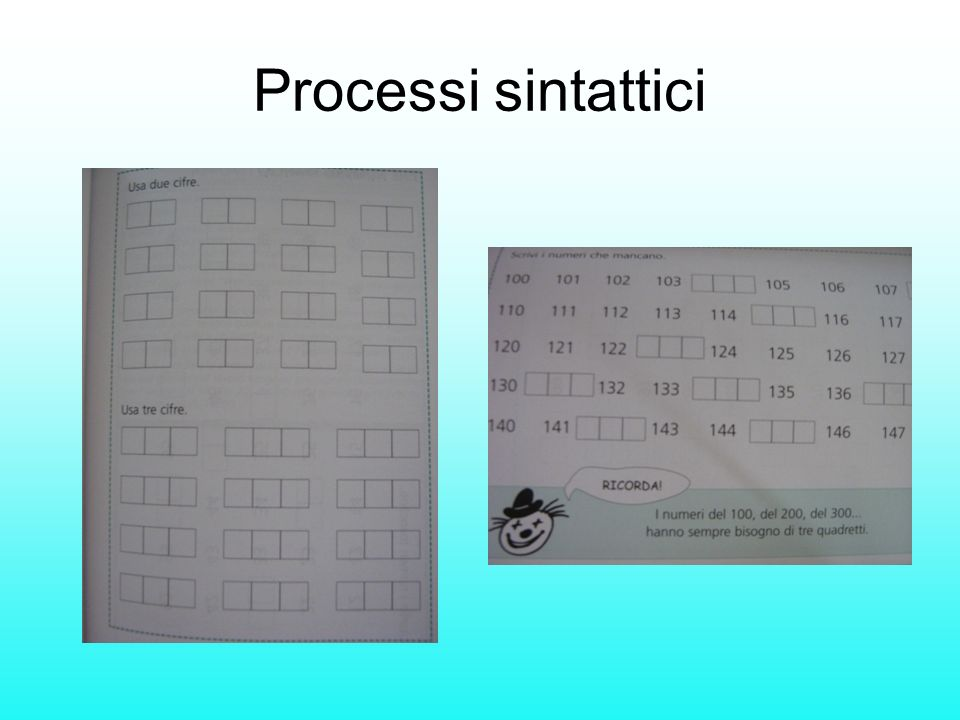 Processi sintattici