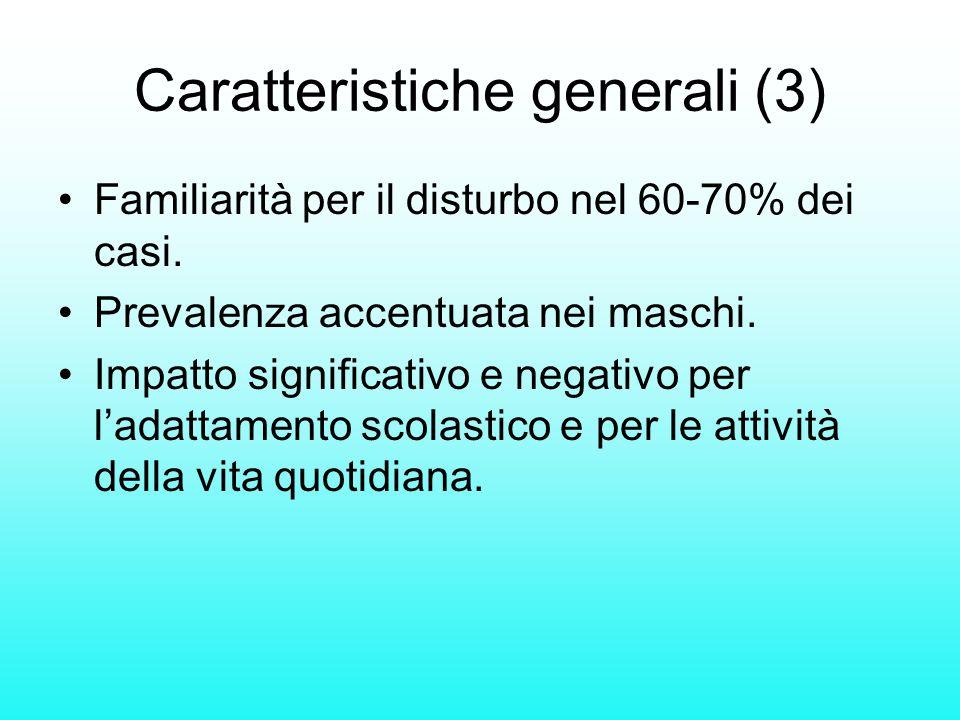 Caratteristiche generali (3)