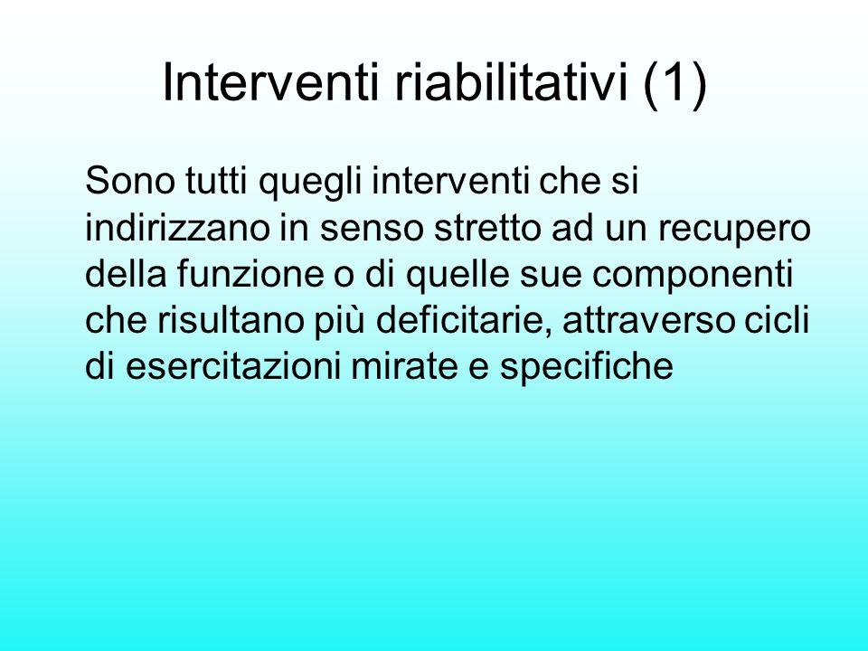 Interventi riabilitativi (1)