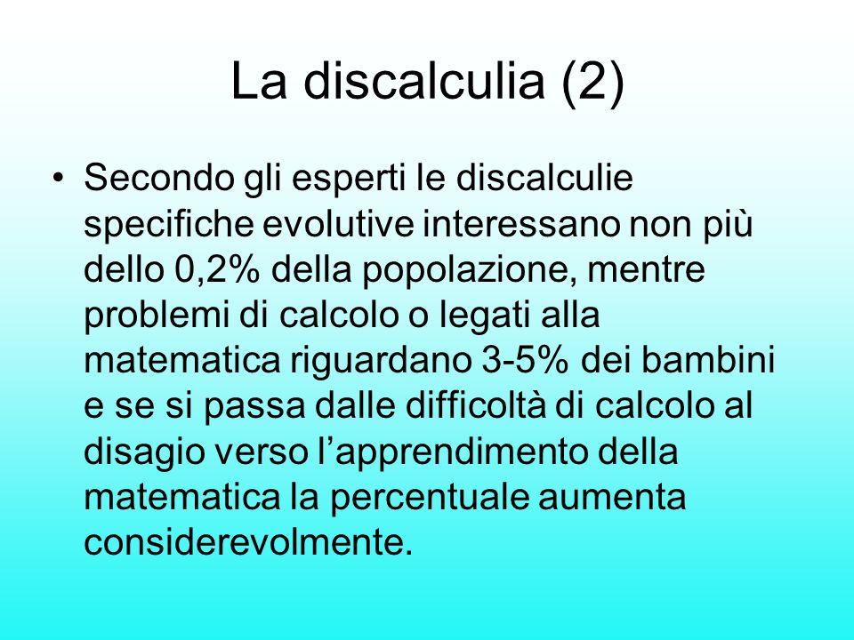 La discalculia (2)