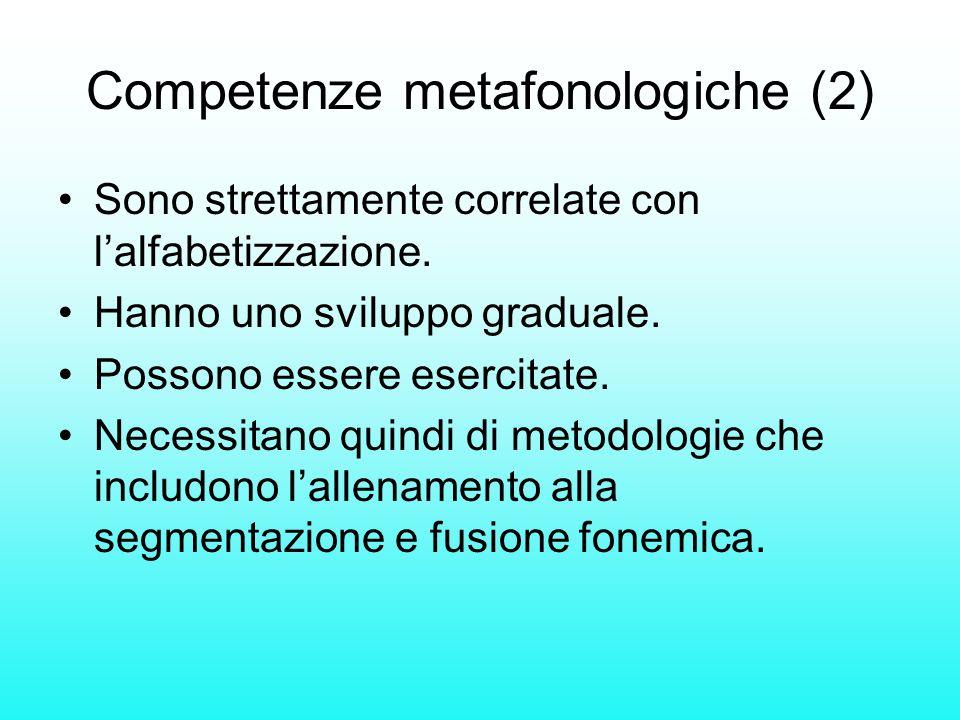 Competenze metafonologiche (2)
