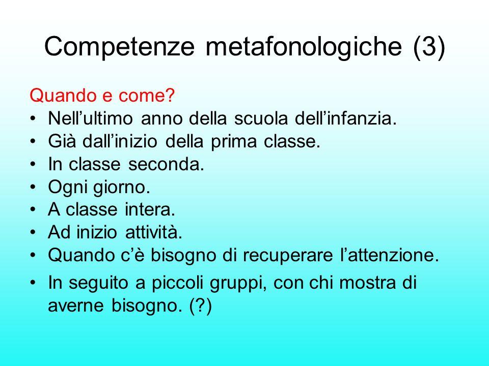 Competenze metafonologiche (3)