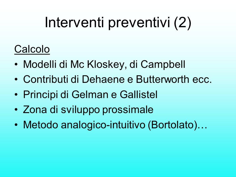 Interventi preventivi (2)