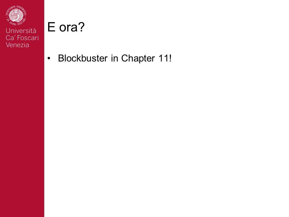 E ora Blockbuster in Chapter 11!