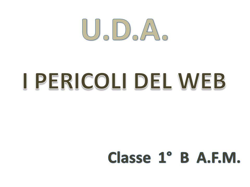 I PERICOLI DEL WEB Classe 1° B A.F.M.