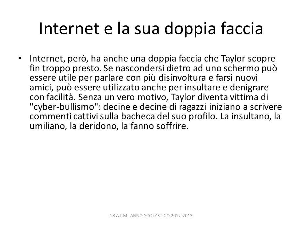 Internet e la sua doppia faccia