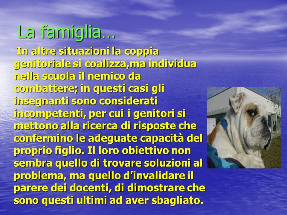 La famiglia…