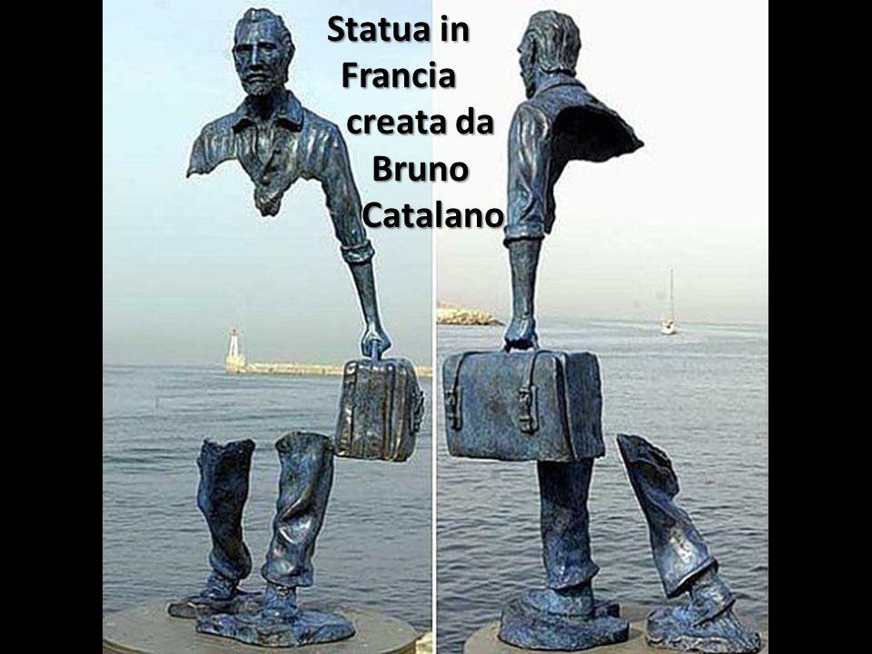 Statua in Francia creata da Bruno Catalano