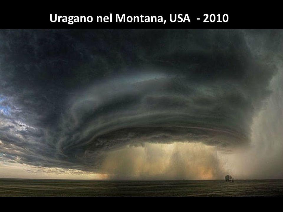 Uragano nel Montana, USA - 2010