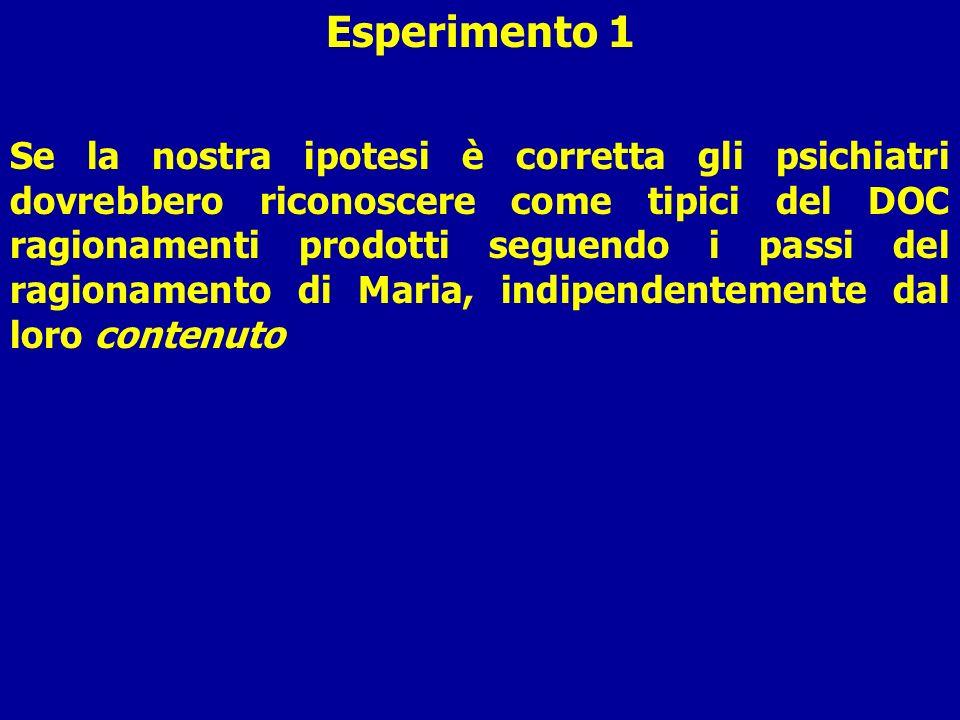 Esperimento 1