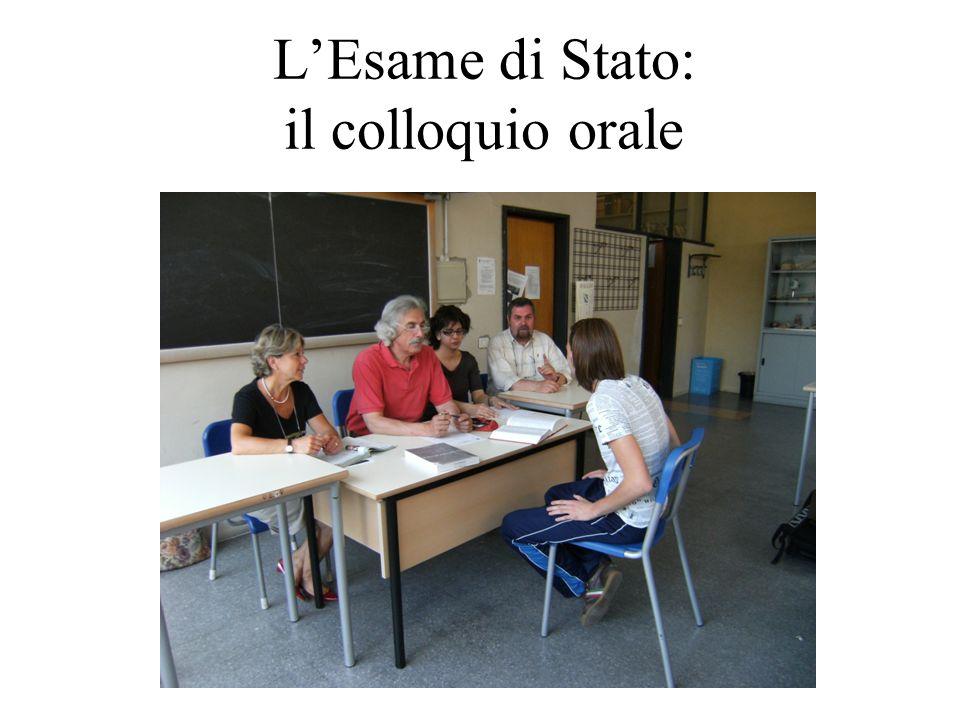 L'Esame di Stato: il colloquio orale
