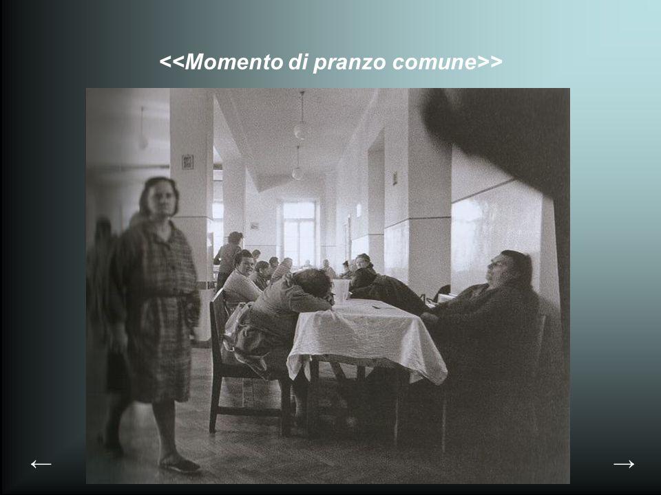 <<Momento di pranzo comune>>
