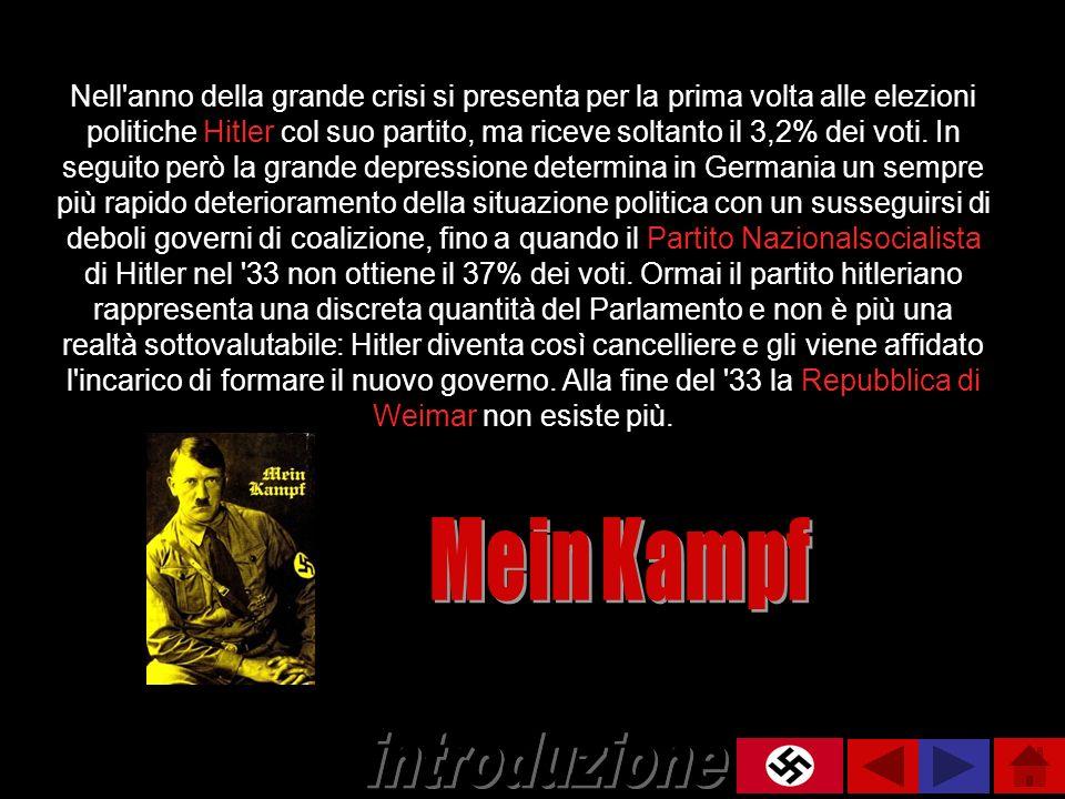 Mein Kampf introduzione