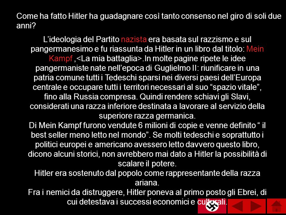 Come ha fatto Hitler ha guadagnare così tanto consenso nel giro di soli due anni