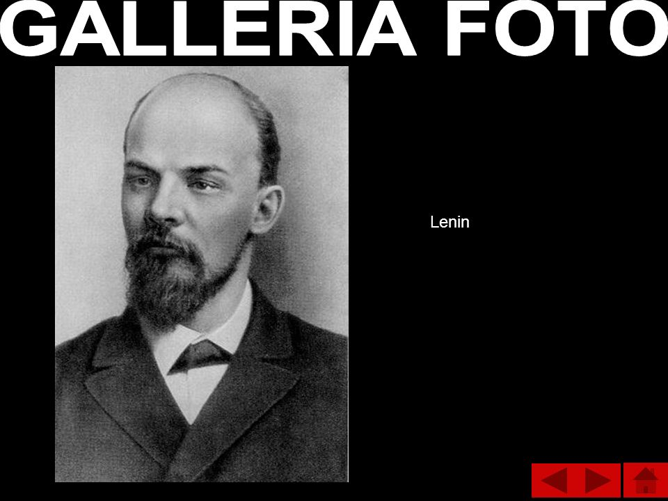 GALLERIA FOTO Lenin