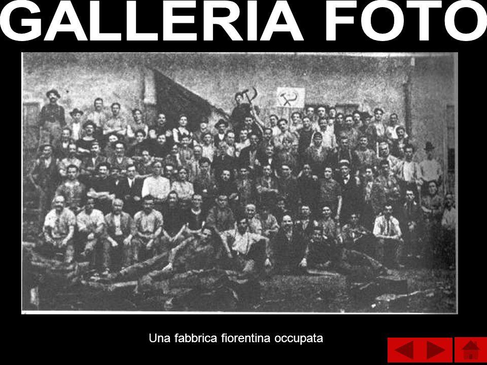 GALLERIA FOTO Una fabbrica fiorentina occupata