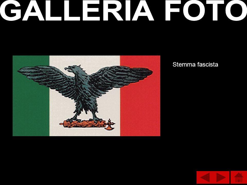 GALLERIA FOTO Stemma fascista