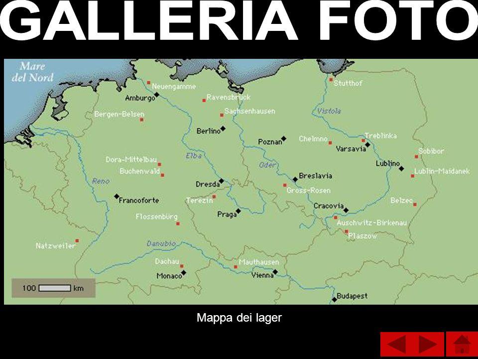 GALLERIA FOTO Mappa dei lager