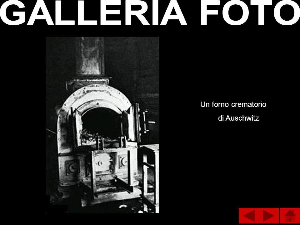 GALLERIA FOTO Un forno crematorio di Auschwitz