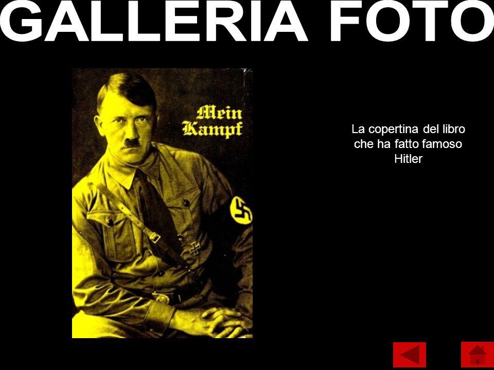 La copertina del libro che ha fatto famoso Hitler