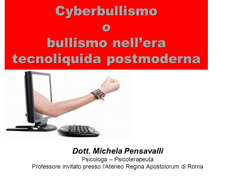 Cyberbullismo o bullismo nell'era tecnoliquida postmoderna
