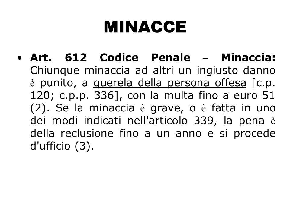 MINACCE