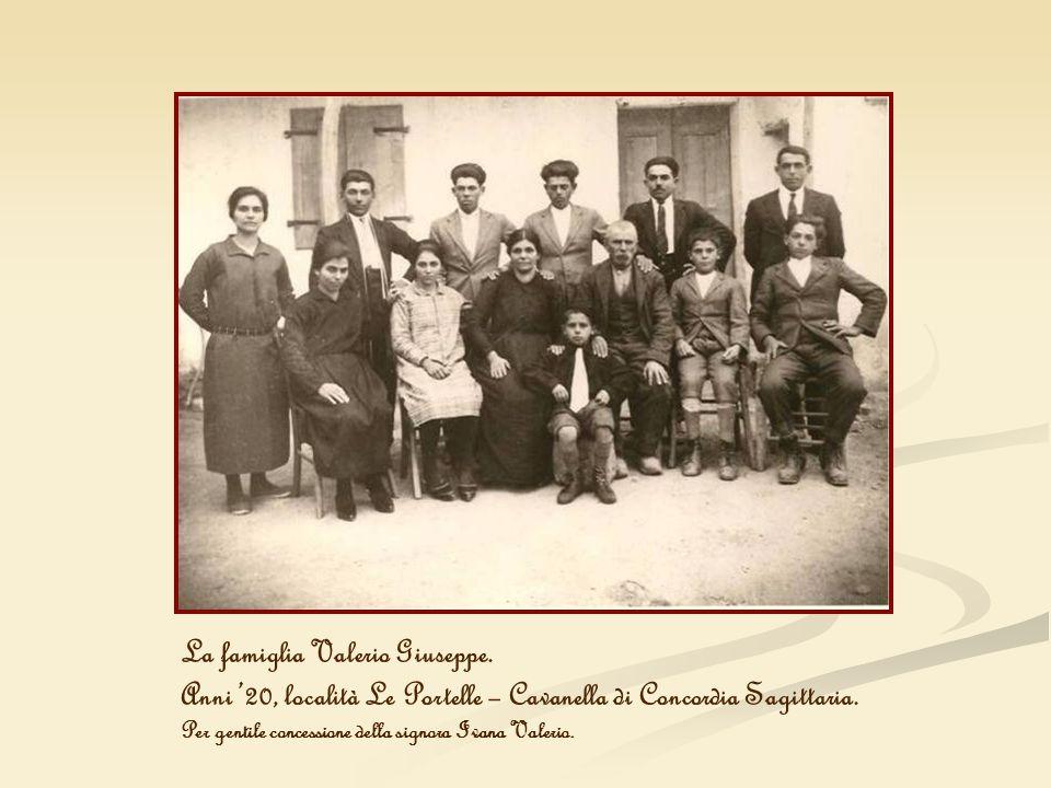 La famiglia Valerio Giuseppe.