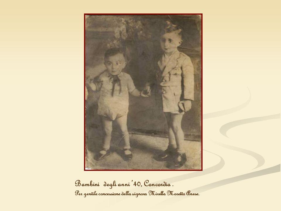 Bambini degli anni '40, Concordia .