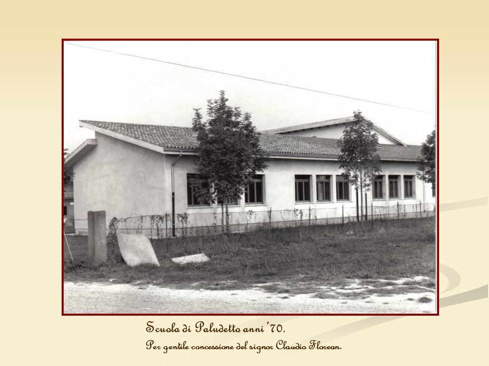 Scuola di Paludetto anni '70.