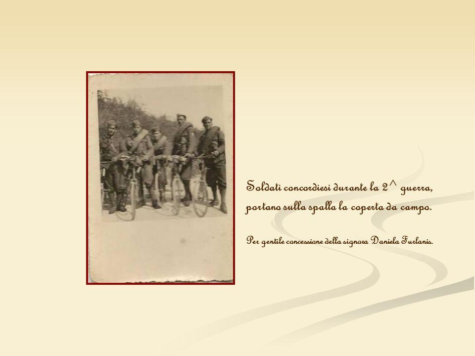 Soldati concordiesi durante la 2^ guerra,