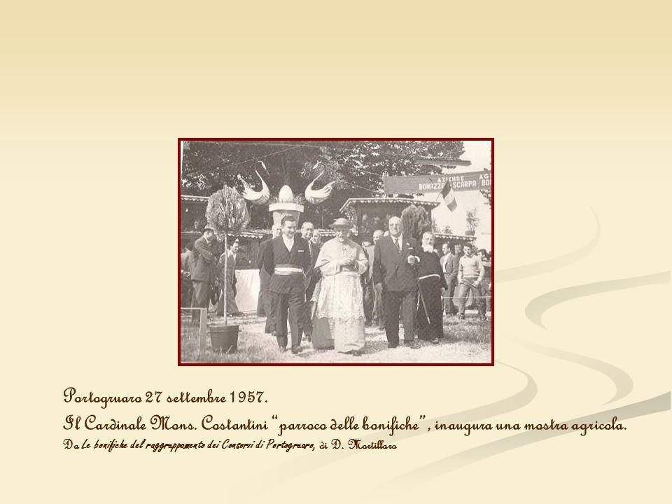 Portogruaro 27 settembre 1957.