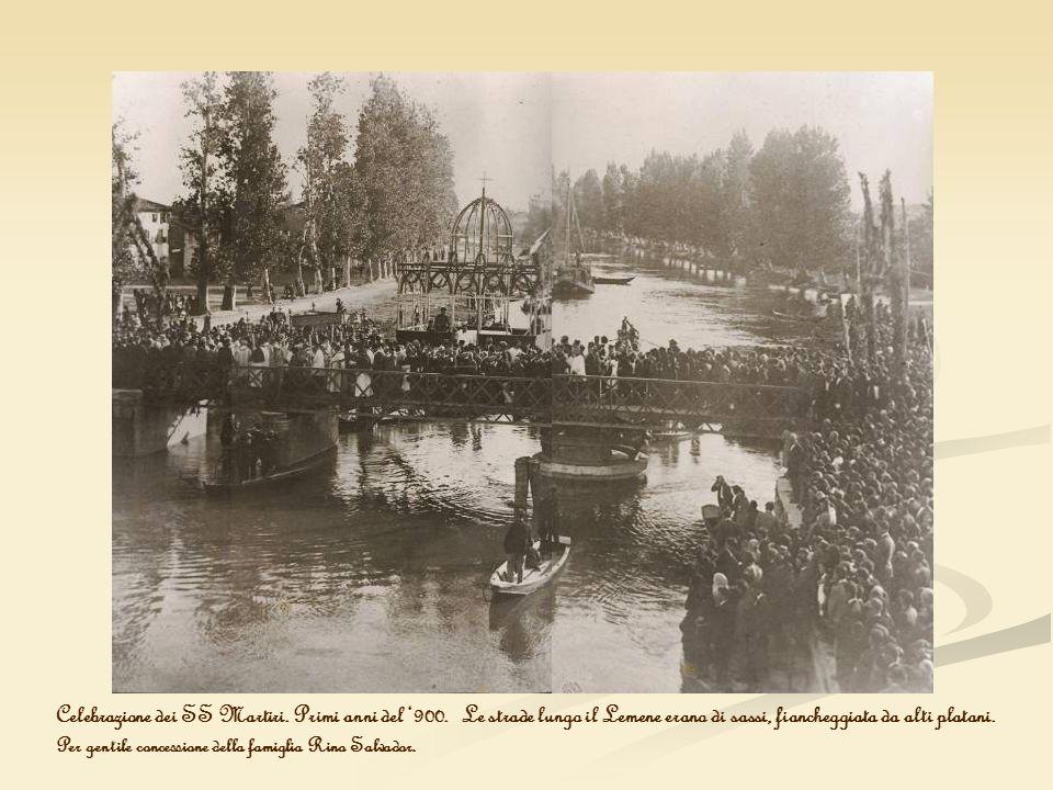 Celebrazione dei SS Martiri. Primi anni del '900