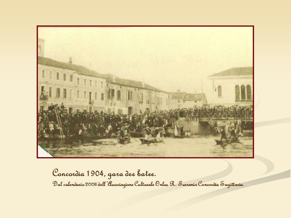 Concordia 1904, gara dee batee.