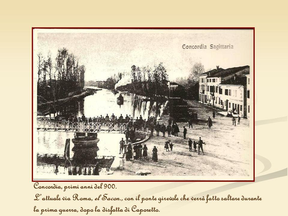 Concordia, primi anni del 900.