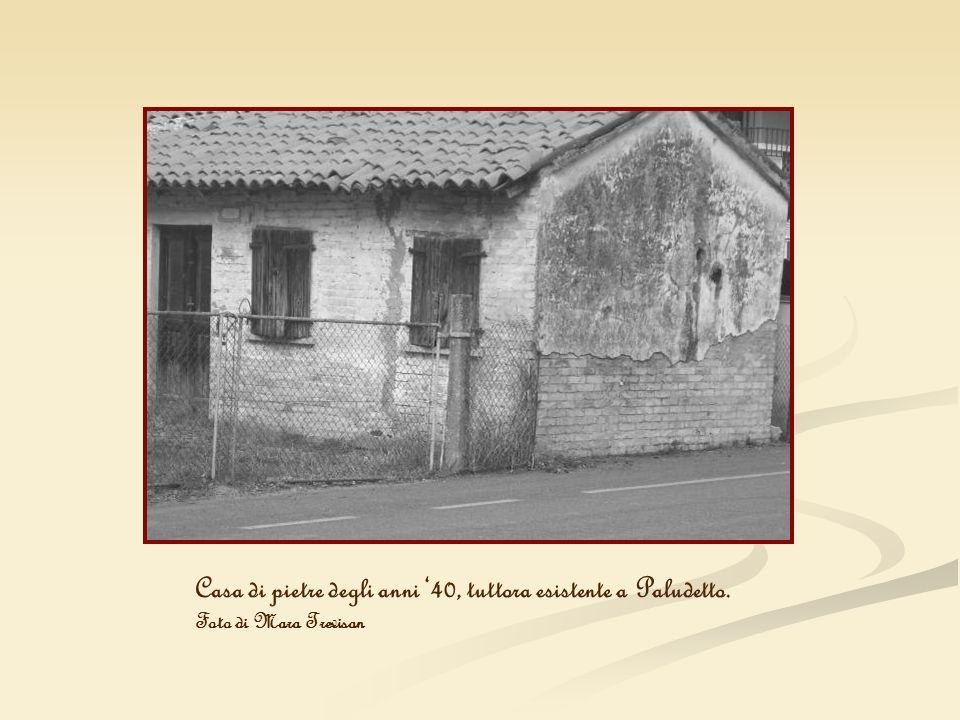 Casa di pietre degli anni '40, tuttora esistente a Paludetto.